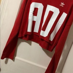 adidas Tops - ADIDAS cropped pullover